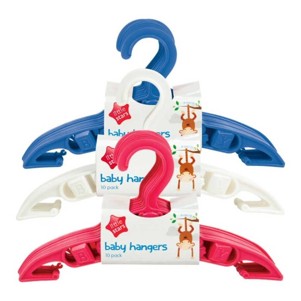 Pack of 5 Baby Toddler Kids Children Clothes Hangers ...