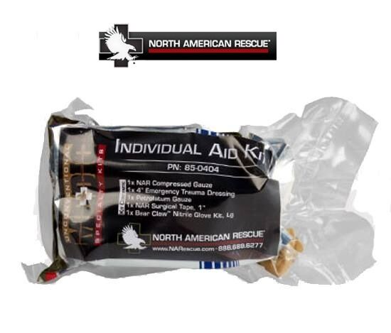 North American Rescue NAR Individual Aid Kit-IFAK Kit-6 ...
