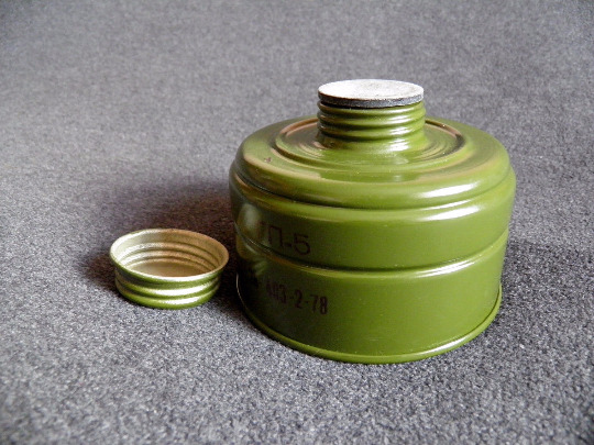 Gas Mask Gp 5 Standard Charcoal Filter Canister 40mm