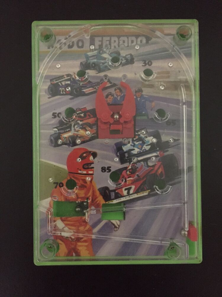 Vintage Ferodo Indy Hand Held Pocket Game Obstacle Course