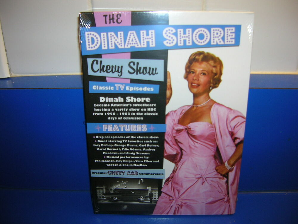 THE DINAH SHORE CHEVY SHOW CLASSIC TV EPISODES DVD with ...