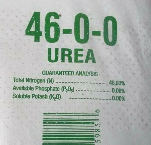 46 0 Urea 0 Fertilizer