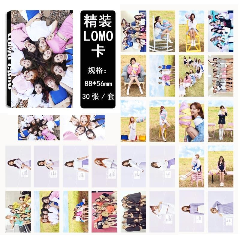 30pcs /set Kpop TWICE Collective Photo Picture Posters ...