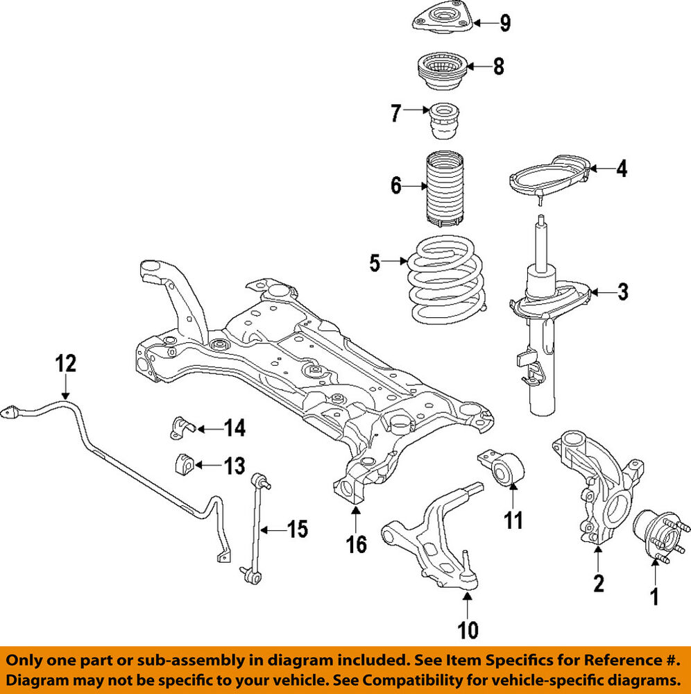 Ford Front End Parts Diagram