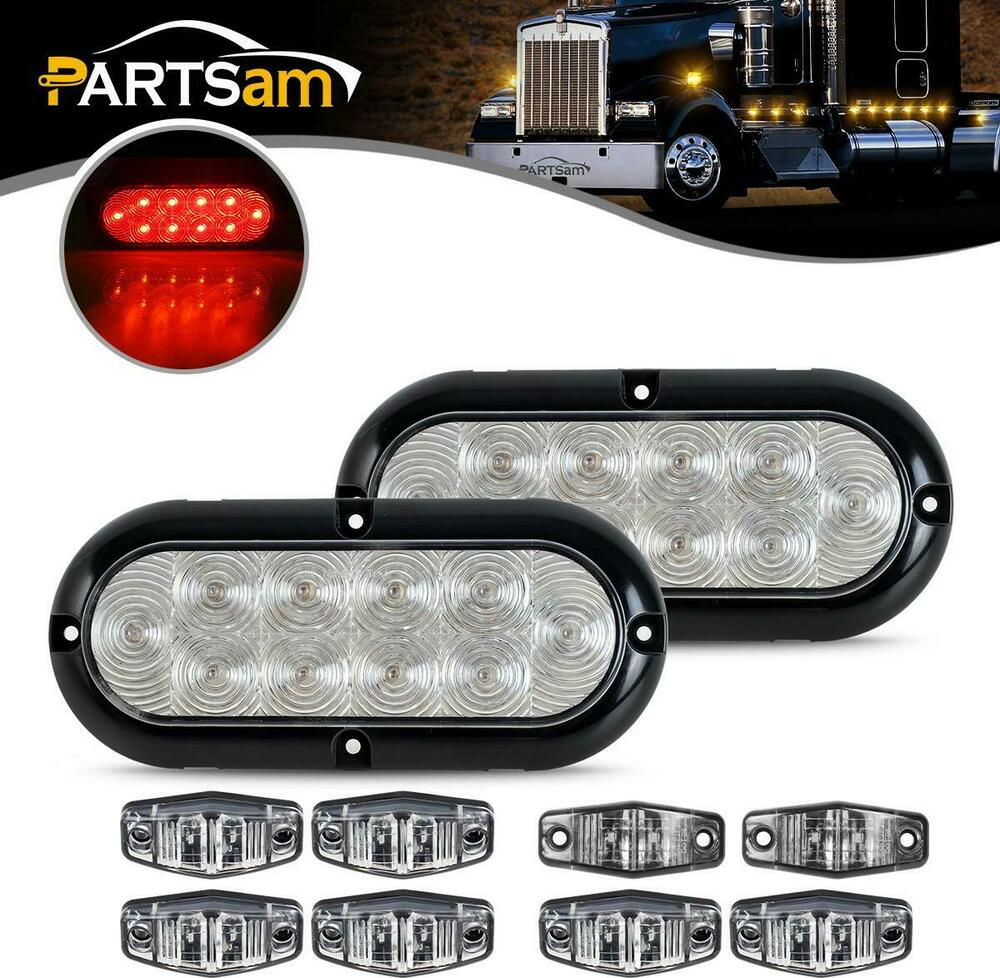 Led Boat Trailer Light Kit