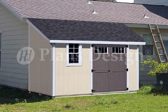 Plans Garden Shed Free