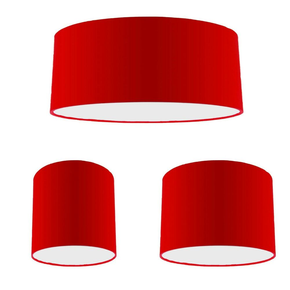 Red Pendant Light Shade