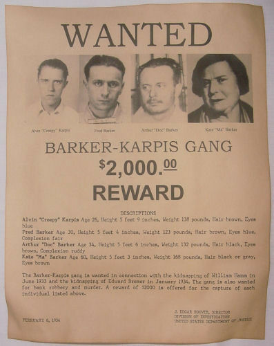 Lucky Luciano Poster Wanted