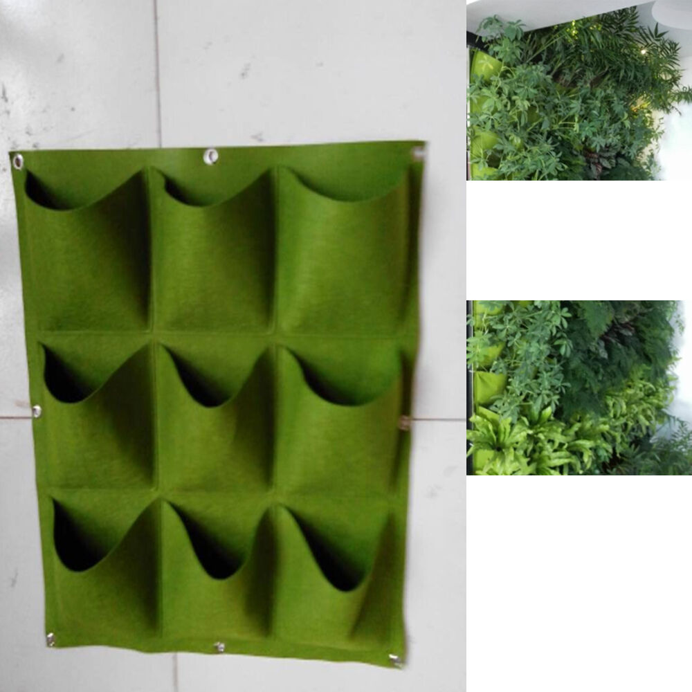Wall Mounted Plant Pots