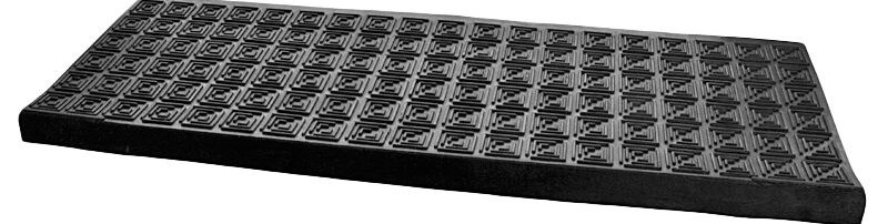 Heavy Duty Rubber Stair Treads Step Covers Outdoor Non | Outdoor Stair Treads For Winter