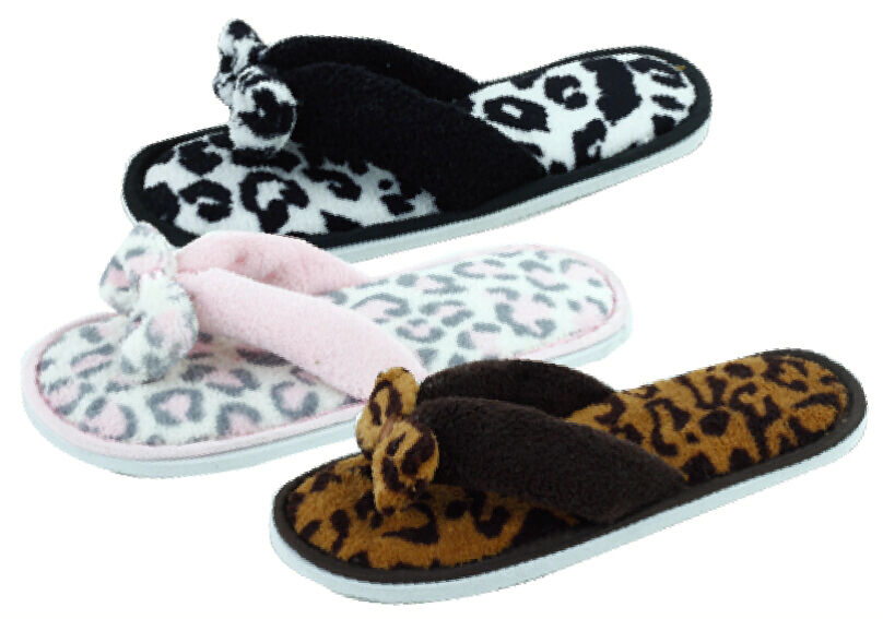 New Women's Fashion Terry Spa Thong Flipflop House ...