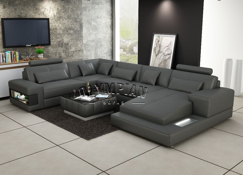L Shaped Reclining Sectional