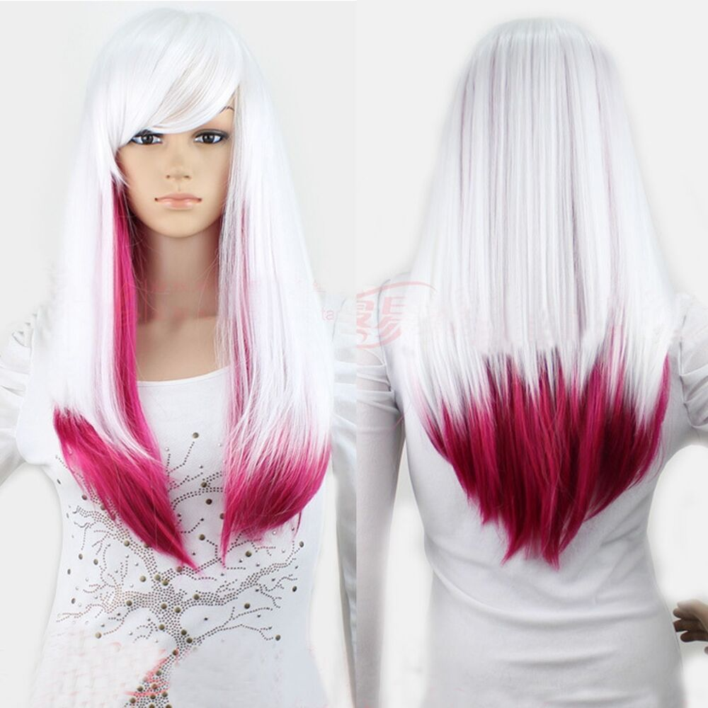 Color Weave For White Hair