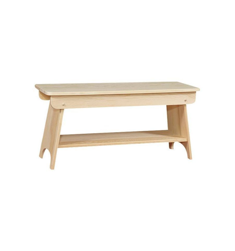 Amish Pine Unfinished Rustic 48 Quot Country Farm Table