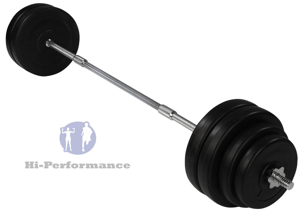 New 60kg Barbell Weightlifting Set For Bench Press Curls