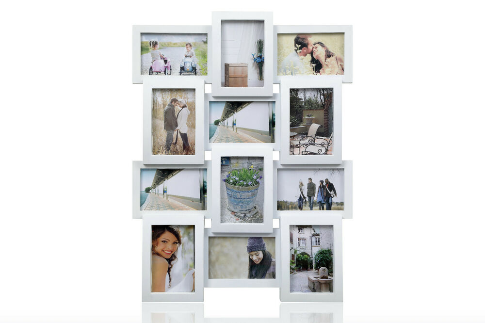 6 Picture Frame Collage Brown