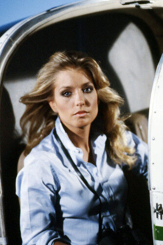 Heather Thomas In Helicopter The Fall Guy 11x17 Mini