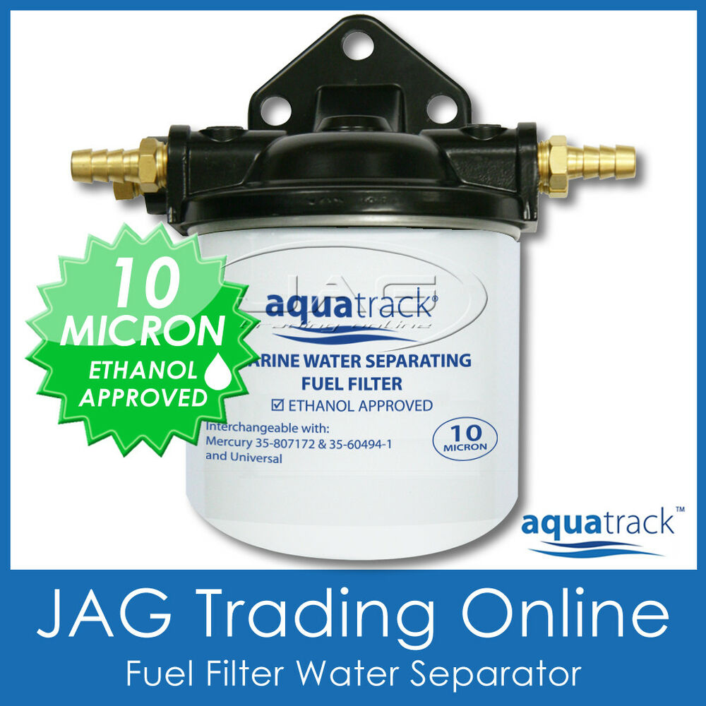 Outboard Fuel Water Separator Yamaha 10 Micron Filter