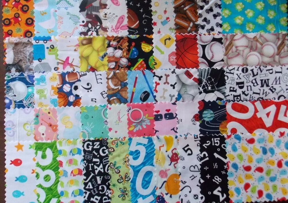 2 Charm Pack Baby Quilt