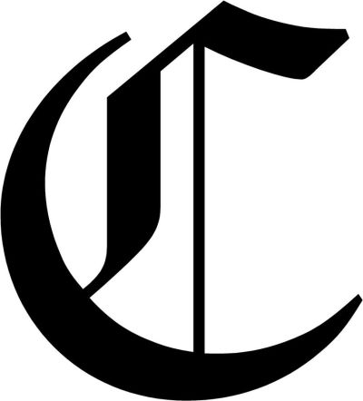 Old English Letter C Initial Decal 9.75