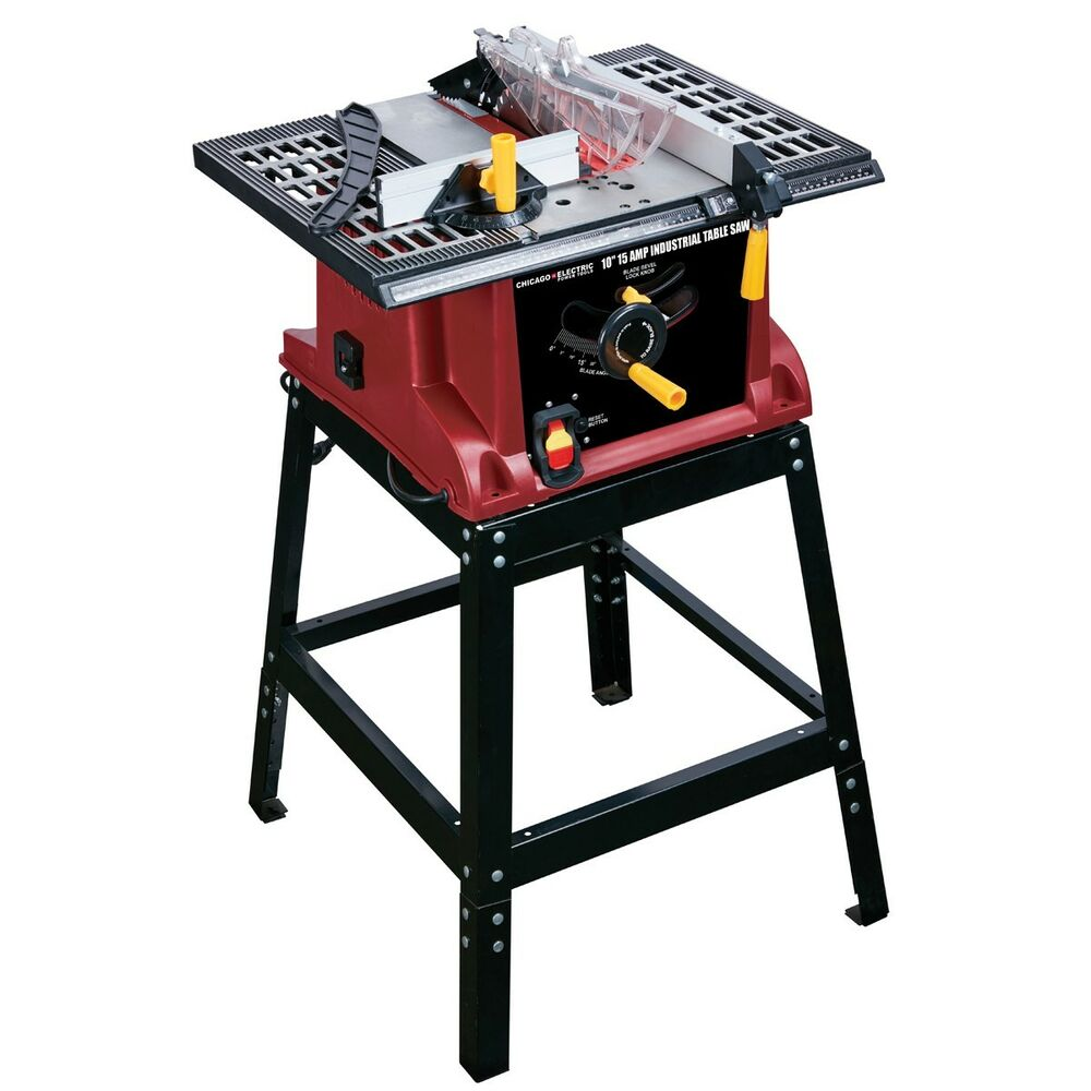 10 In 13 Amp Bench Top Table Saw Industrial Strength 5 000