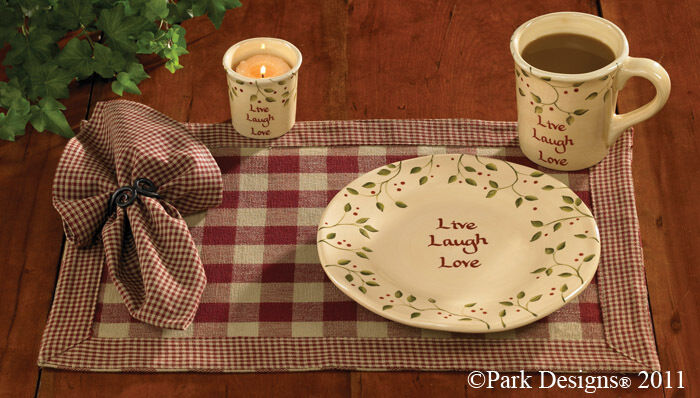 Placemats Decor Country