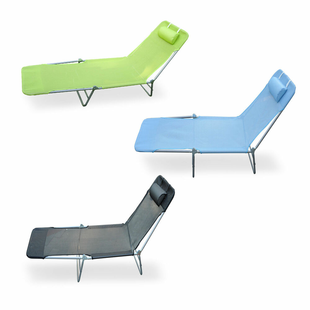 Patio Reclining Lounger