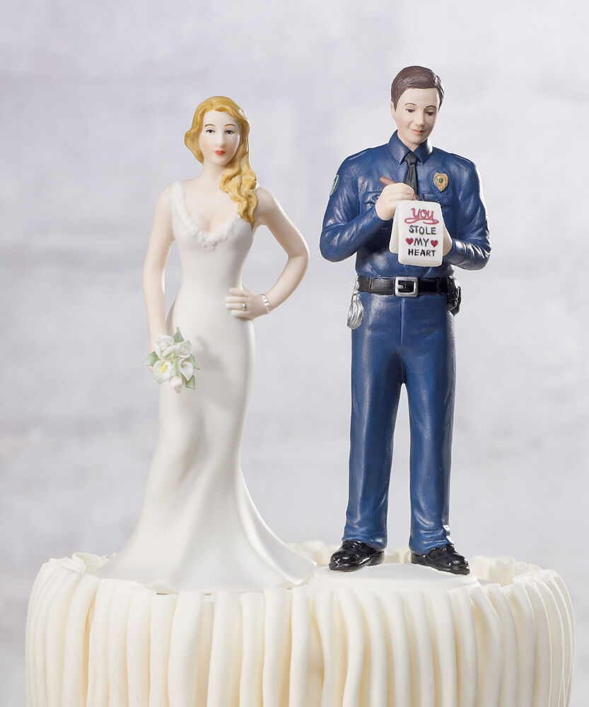 A Love Citation Police Officer and Bride Funny Policeman ...