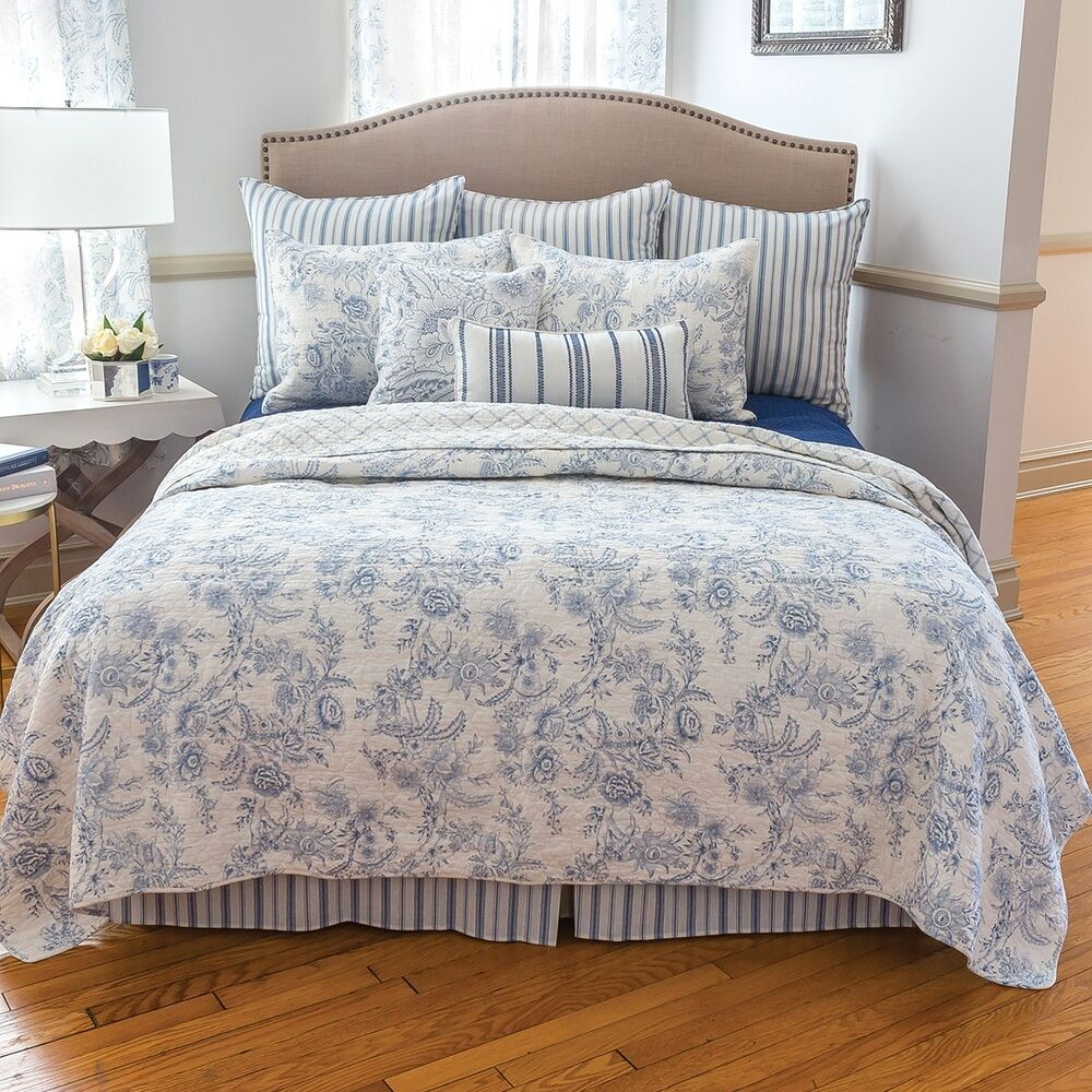 Bedding French Black Toile