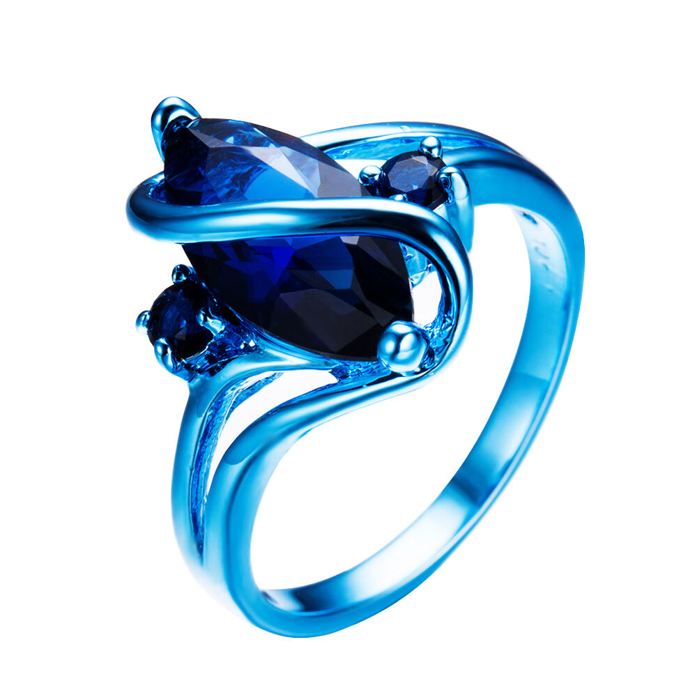 Sapphire Woman Rings Matching Blue And Man