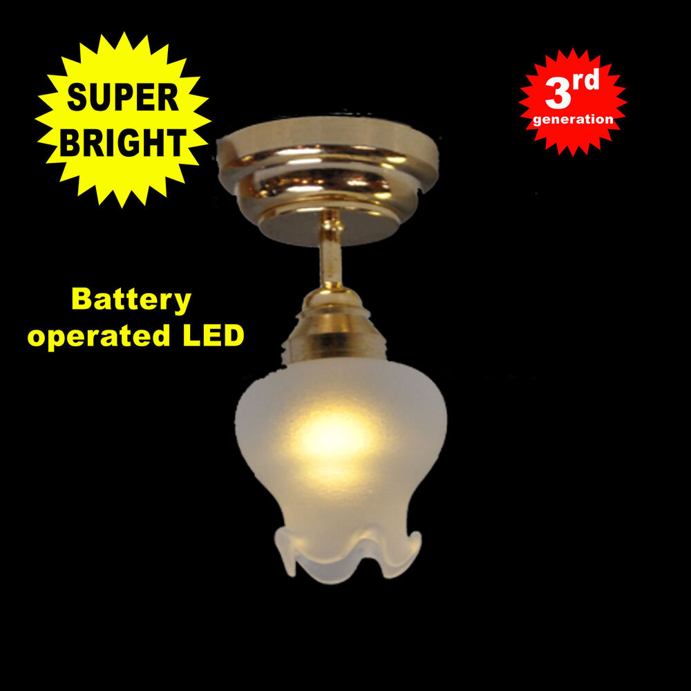 Battery Operated Led Ceiling Light