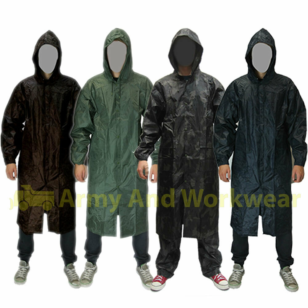 Mens Raincoats Long