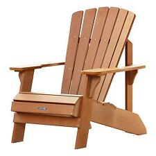 Lifetime Patio   Garden Chairs for sale   eBay Lifetime Adirondack Chair 60064 Simulated Wood Patio Furniture