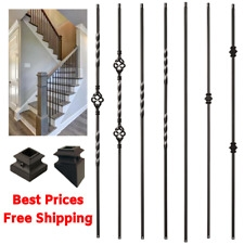Wrought Iron Balusters Products For Sale Ebay | Iron Balusters For Sale | Metal | Wood Iron | Indoor | Rectangular | Forged Steel