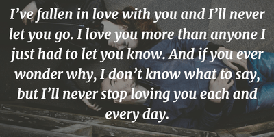 The Most Romantic Quotes to Express  I Love You    EnkiQuotes The Most Touching Quotes to Tell I love You So Much