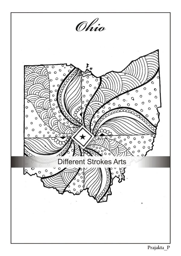 ohio state coloring pages # 84