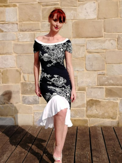 Tango-Kleid Florinda Halskrause tanzkleid Sommerkleid | Etsy