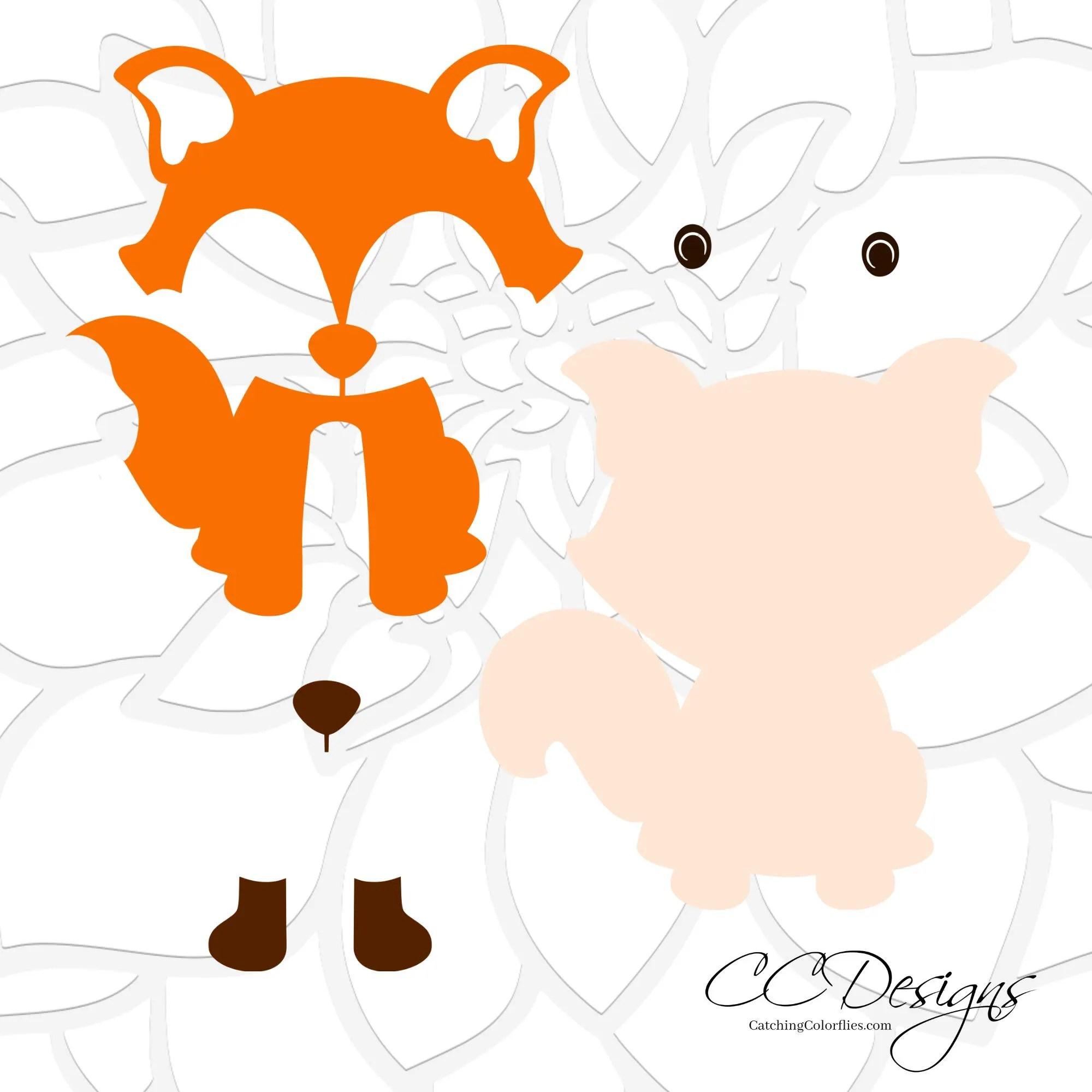 Woodland Animals SVG Cut Files Woodland Nursery Baby ...