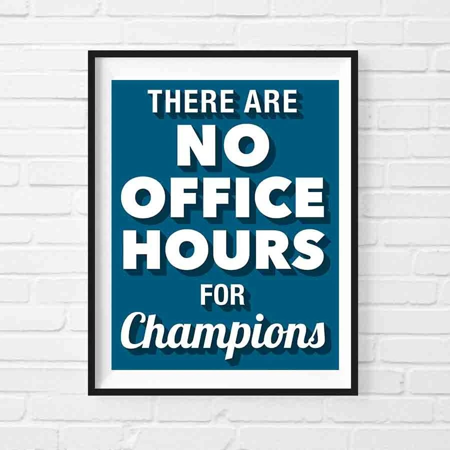 Motivational Office Posters