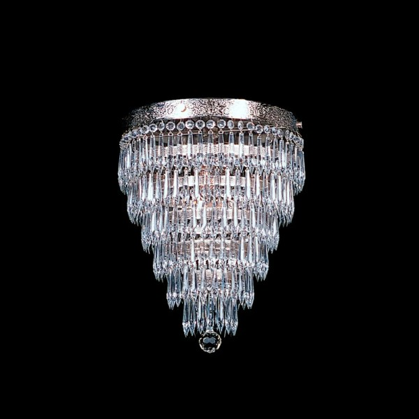 crystal chandelier tiered # 31