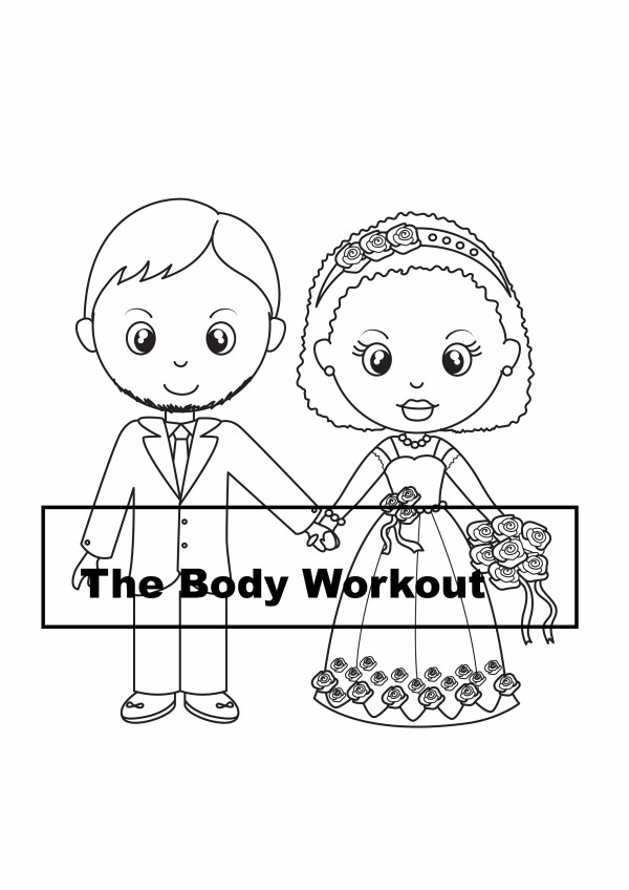 wedding coloring page # 86