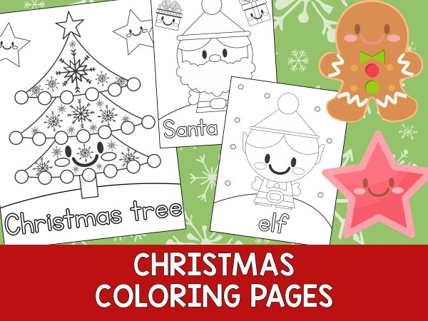 christmas coloring book pages # 82