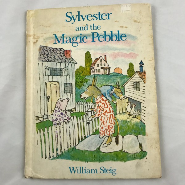 William steig   Etsy Sylvester and the Magic Pebble Vintage Childrens Book by William Steig  Copyright 1969 Scrapbook Supplies Donkey Lion Nursery Pictures Gift