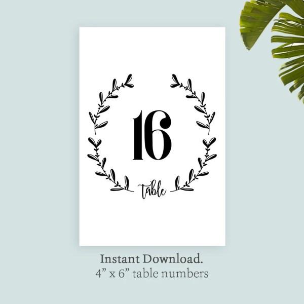 wreath template printable # 49