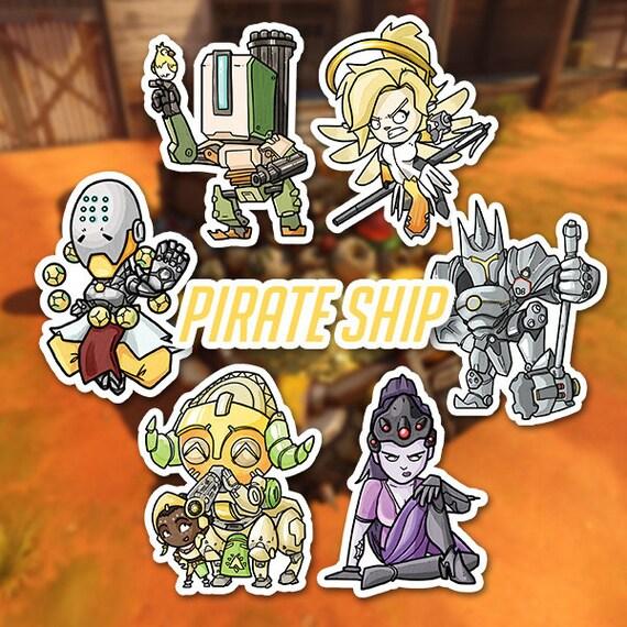 pirate ship overwatch # 16