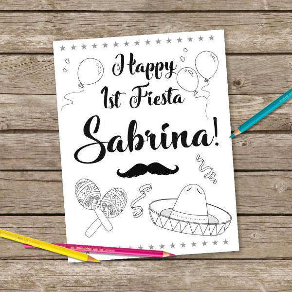fiesta coloring pages # 19
