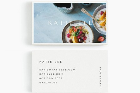 Katie  Business Card Template for Google Drive Stylist Set   Etsy image 0