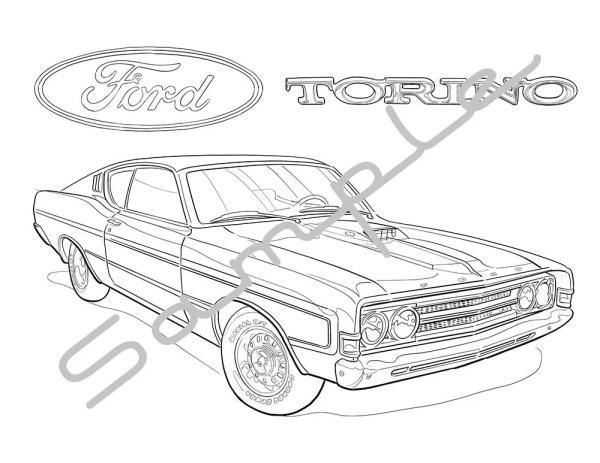 ford coloring pages # 62