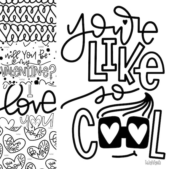 printable valentines day coloring pages # 82