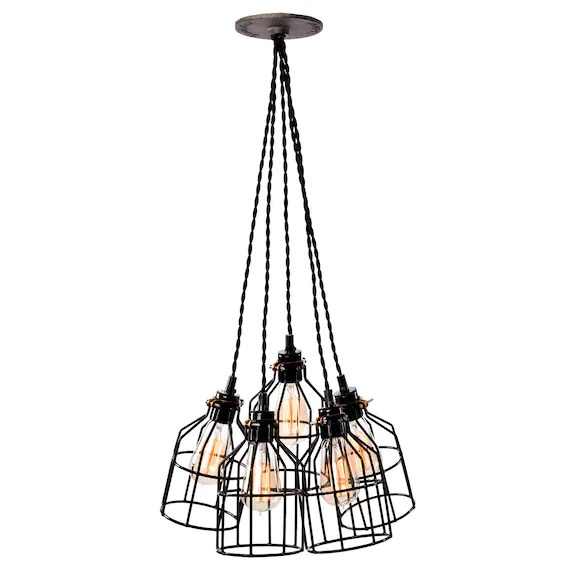 industrial cluster pendant lighting # 35